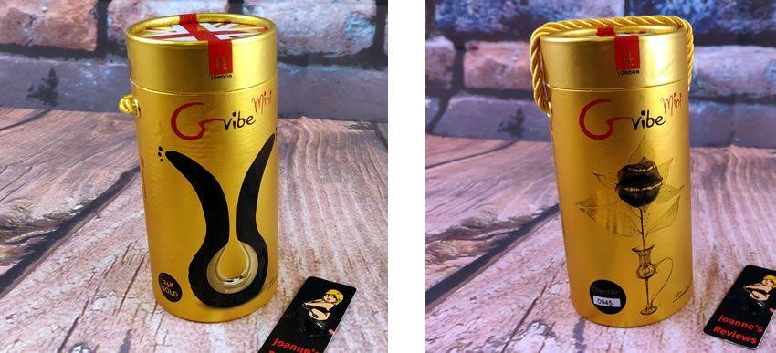 Image showing the awesome packaging of the 24kt Gvibe Gmini Gold