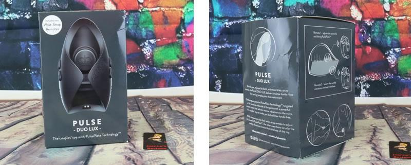 Image showing the packaging for the Pulse Duo Lux