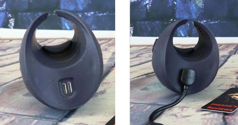 Image showing the charging point on the Pulse Duo Lux