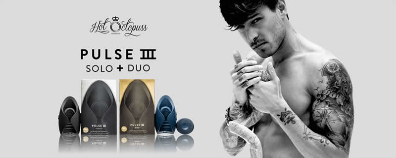 The Pulse III Duo is an awesome couples vibrator and masturbator