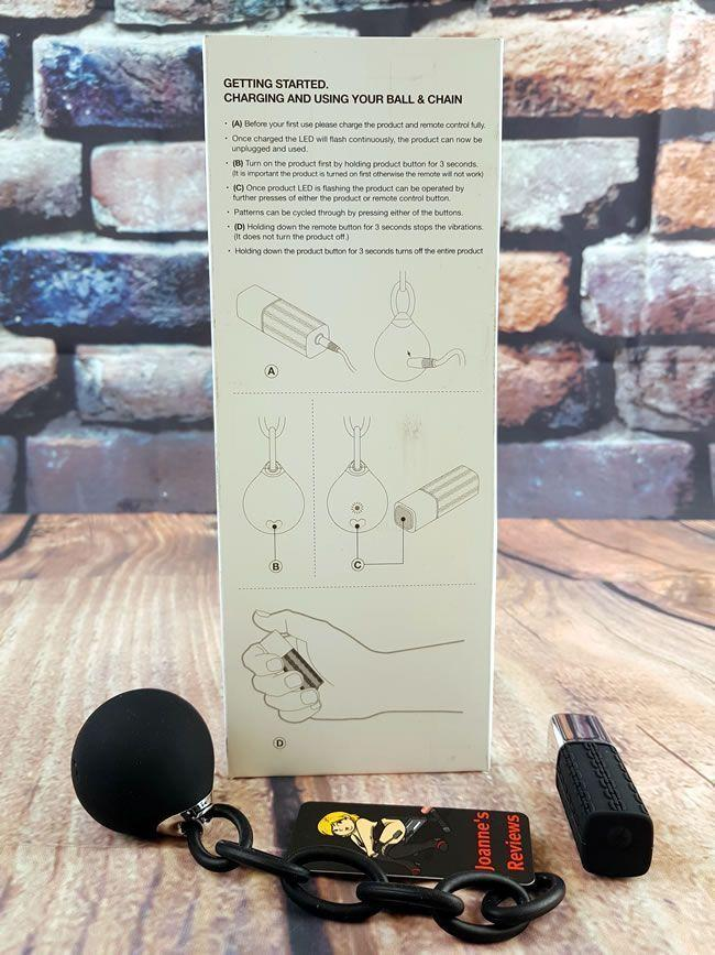 Image showing the instructions and the toy itself