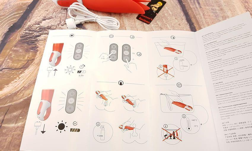 Obraz przedstawiający instrukcje dla Power Flower