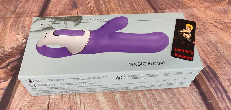 Image showing the box of the Satisfyer Magic Bunny vibe