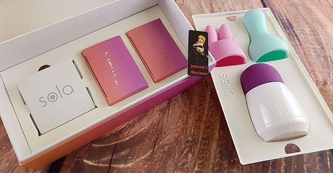 The packaging of the Sola Egg Massager is very well done and everything is held securely inside