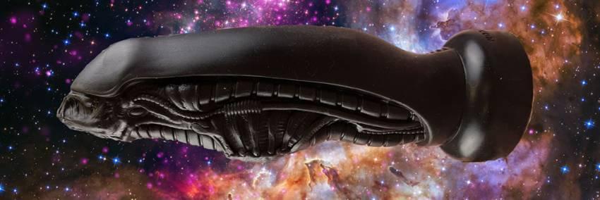 Hankeys Alien Dildo felülvizsgálata Sexmachines.co.uk-ből
