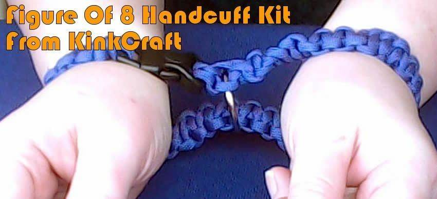 Figure Of 8 Handcuffs From KinkCraft