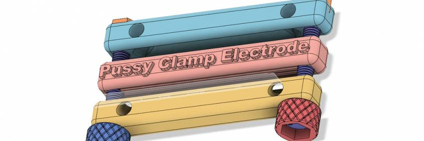 DIY Pussy Clamp Electrode