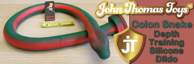 Colon Snake Anal Depth Trainer From John Thomas Toys