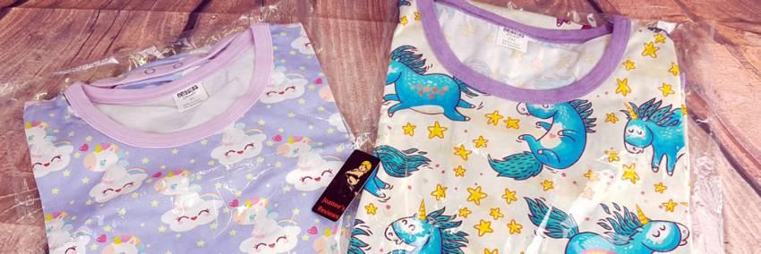 Drømmende og Unicorns Snap Crotch ABDL Onesies