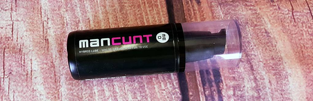 Man Cunt Hybrid Lube from Meo.de