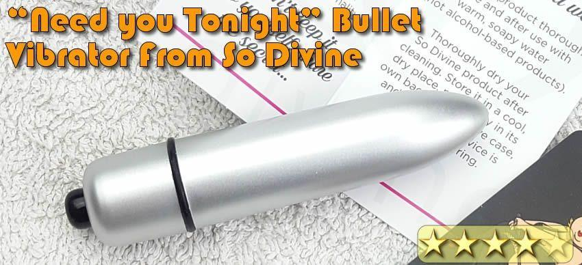 So Divine 'Need You Tonight' Vibrating Bullet