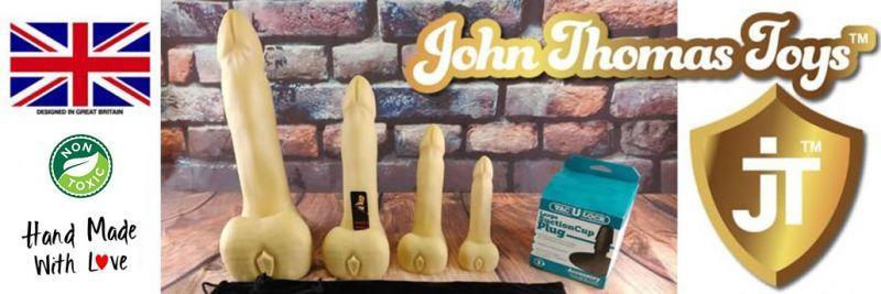 Преглед на John Thomas® Billy Bunter Platinum Silicone Dildo