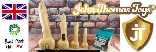 John Thomas® Billy Bunter Platinum Σιλικόνη Dildo κριτική