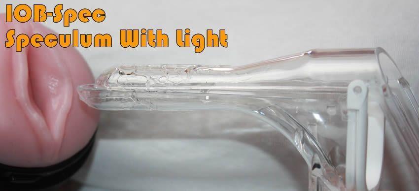 Spéculum IOB-Spec avec lumière