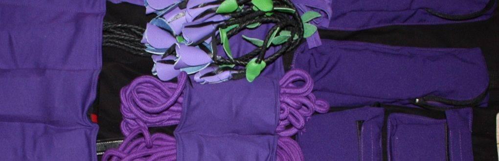 Bolsa de bolso BDSM focada em bolso de Bondatrix.com