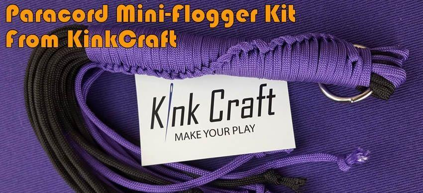 Mini Flogger Kit from KinkCraft