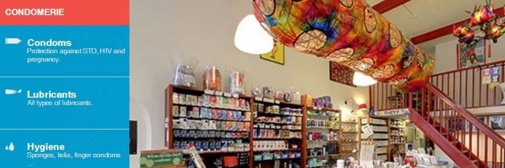 Worlds First Condom Specialty Shop -  Condomerie