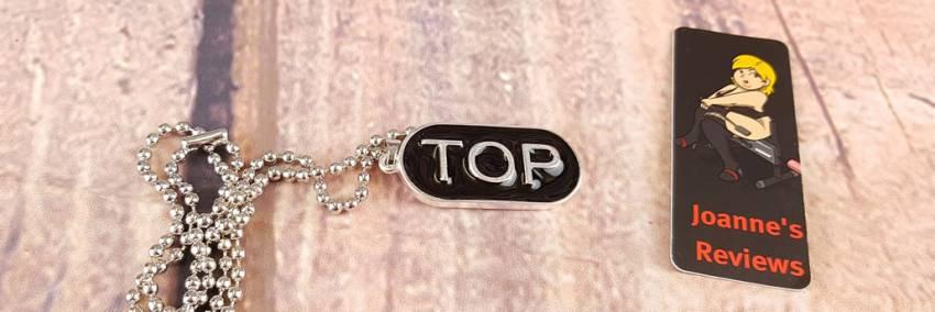 TOP Halsband - Mäns BDSM Halsband Med Hängsmycke Granskning