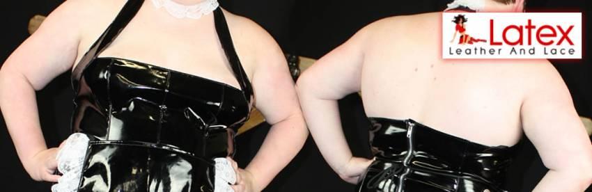 Allure Plus Size PVC Fransk Maid Costume Review