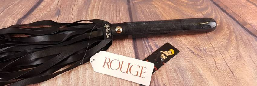 Rouge Klær Fifty Times Hotter Marble Handle Flogger Review