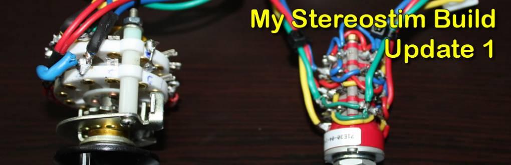 My Stereostim Estim vezérlődoboz az 1 részét képezi