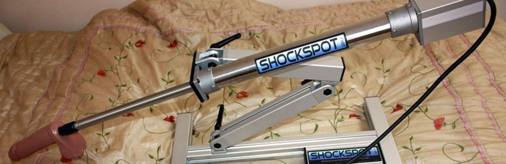 Shockspot 12 Inch Fucking Machine