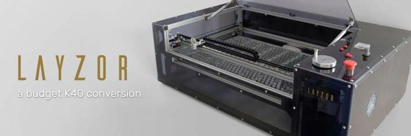"""Χτίζω το """"Layzor"""" μου - Laser Engraver"""