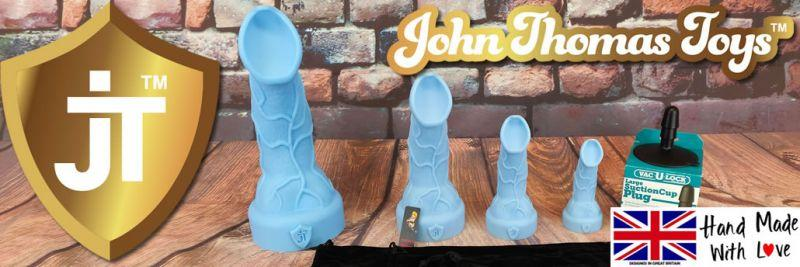 John Thomas Toys Alien Hooligan Silicone Dildo Review