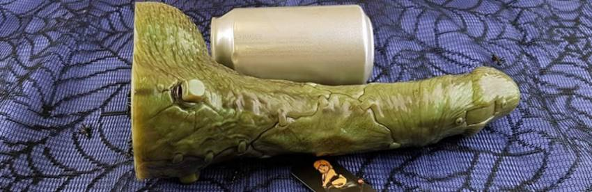 Fleshlight Freaks Frankenstein Silicone Dildo Review