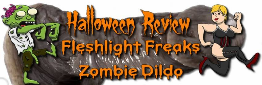 Fleshlight Freaks Zombie silikonové dildo recenze