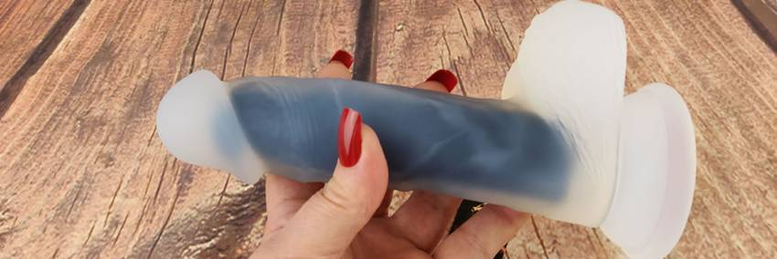 Så Divine Black Juju Duality Silicon Dildo Review