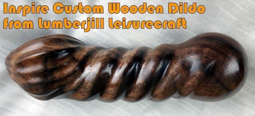激發定制木質假陽具 - 來自www.lumberjillcrafts.com