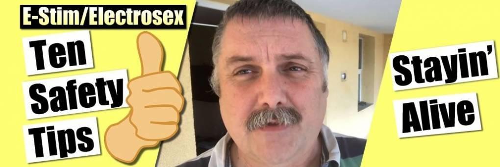 Diez consejos de seguridad para E-stim y Electrosex