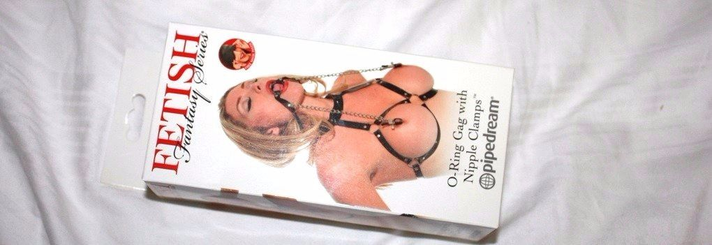 O-Ring Gag With Nipple Clamps Review