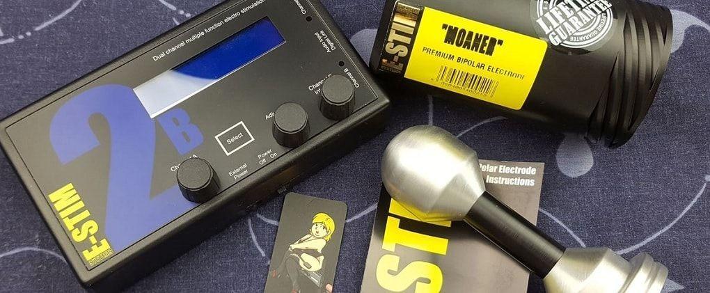 Moaner Bi-Polar E-Stim Преглед на електродите