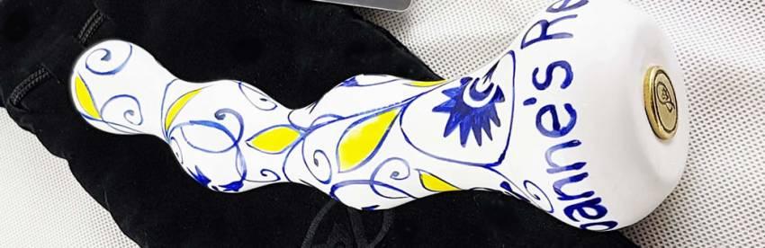 Gode Persique Palm Eva Classic Line Dildo en céramique