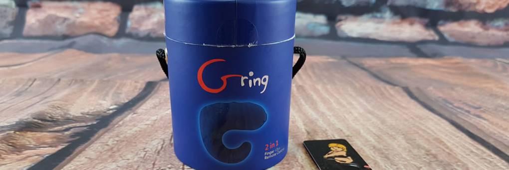 Gring Finger Vibe z Gvibe