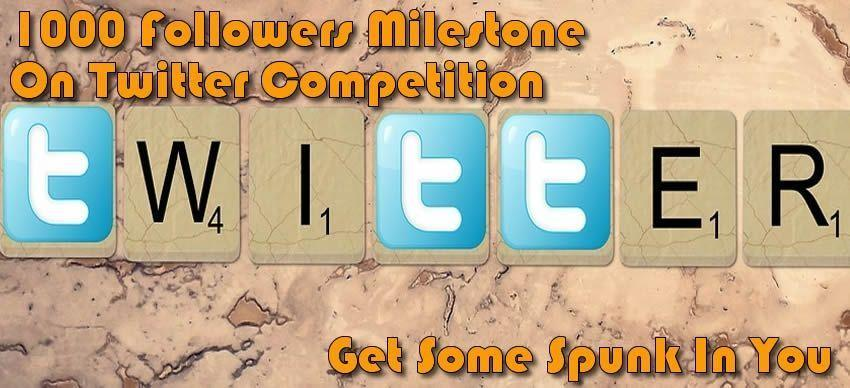Joannes 1k Followers Twitter Competition