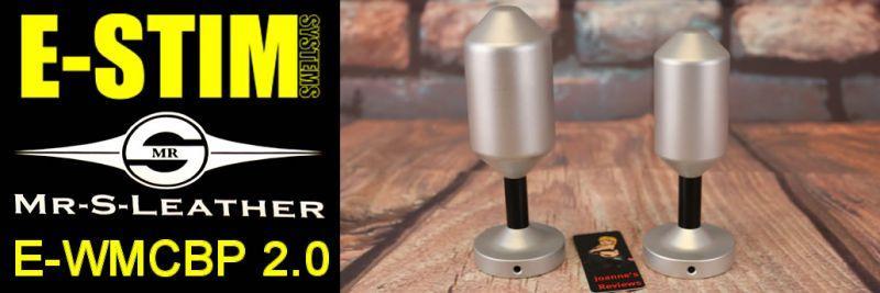 E-WMCBP 2.0 E-Stim Systems Mr S Кожаный электрод для совместной работы