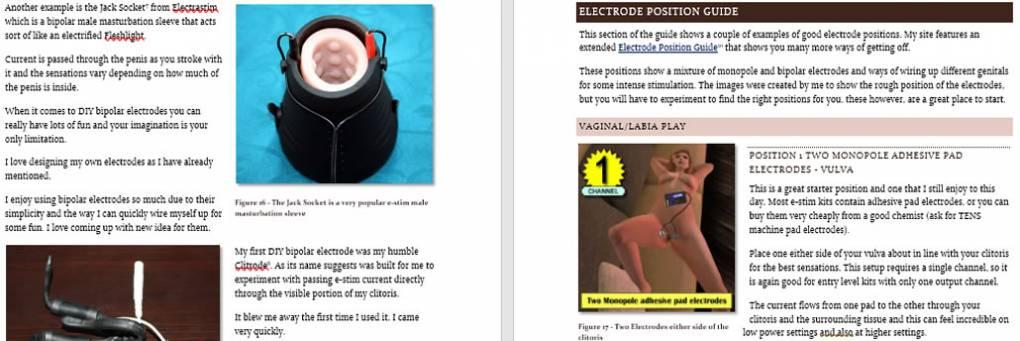 Ny bok - Joanne & # 039; s nybegynnerveiledning for e-stimulering og elektroseksualitet