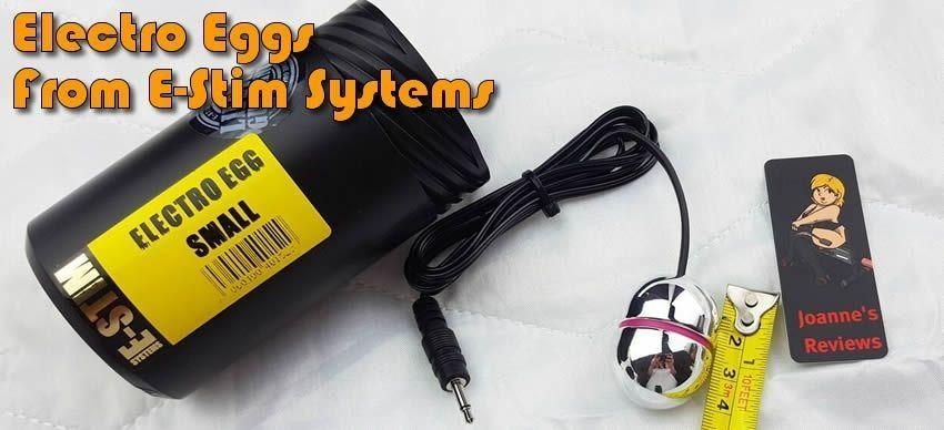 Electro Eggs from E-Stim Systems in the UK