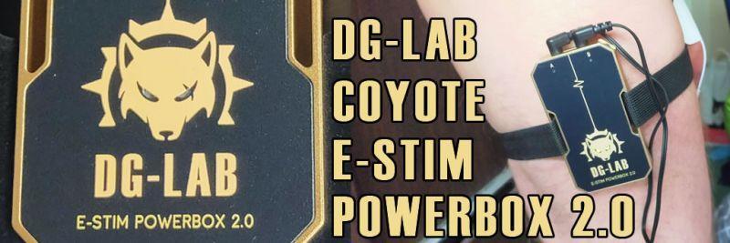 DG Labs Coyote Estimコントロールボックスゲストレビュー