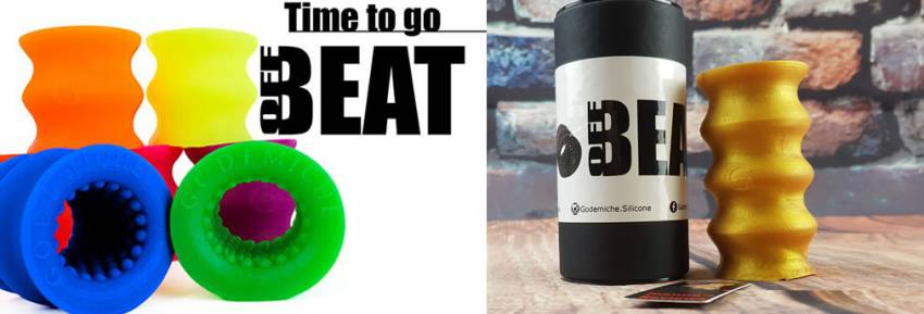 The OffBeat Silicone Stroker Godemiche