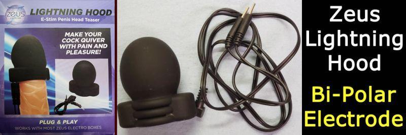 Αναθεώρηση Tee Zeus Electrosex Lightning Hood E-Stim Penis Head