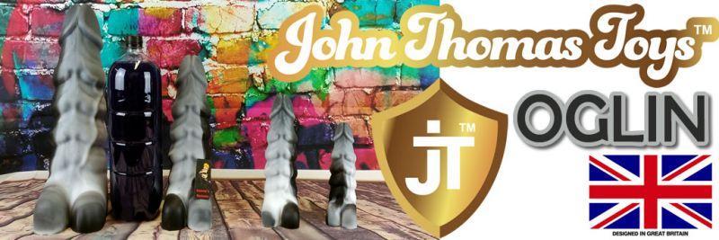 約翰·托馬斯玩具的OGLIN假陽具