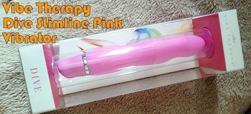 Vibe Therapy Dive Slimline Pink Vibrator - Zuchwały mały klimat, który sprawił, że moje cipki mruczały.