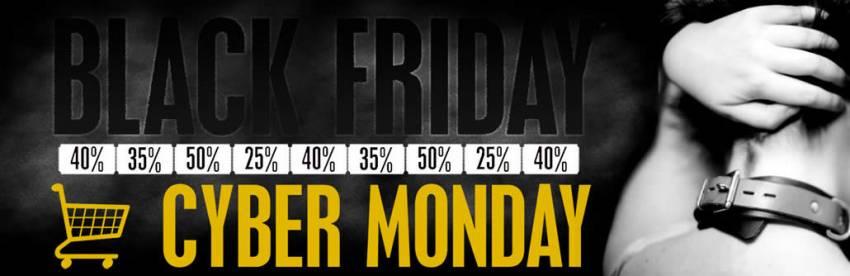 Sexta-feira negra fantástica e segunda-feira cibernética SexToy Sales