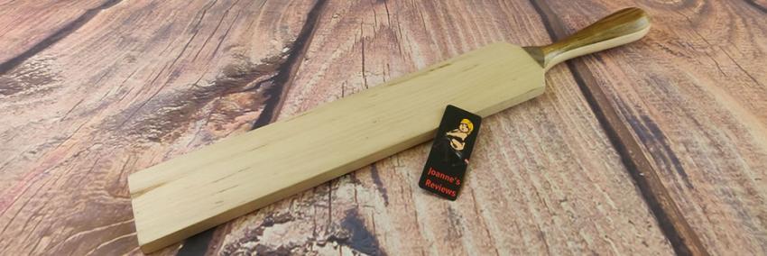 感謝の痛みのレビューから木製パドル