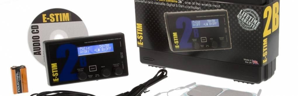 2B E-Stim Control Box Review από συστήματα E-Stim