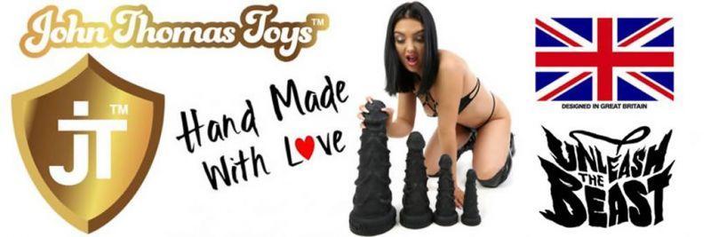 John Thomas® Toys BEASTLI Платинен силиконов дилдо преглед